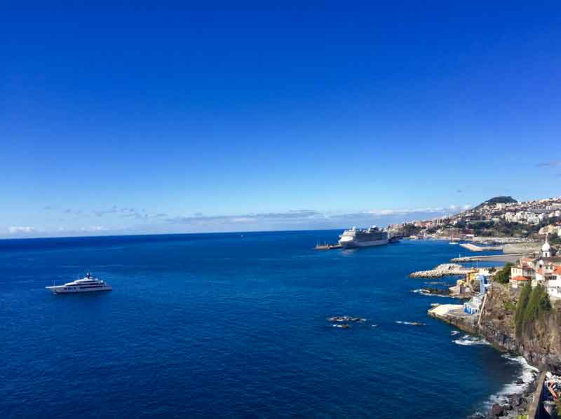 Located by Funchal harbour