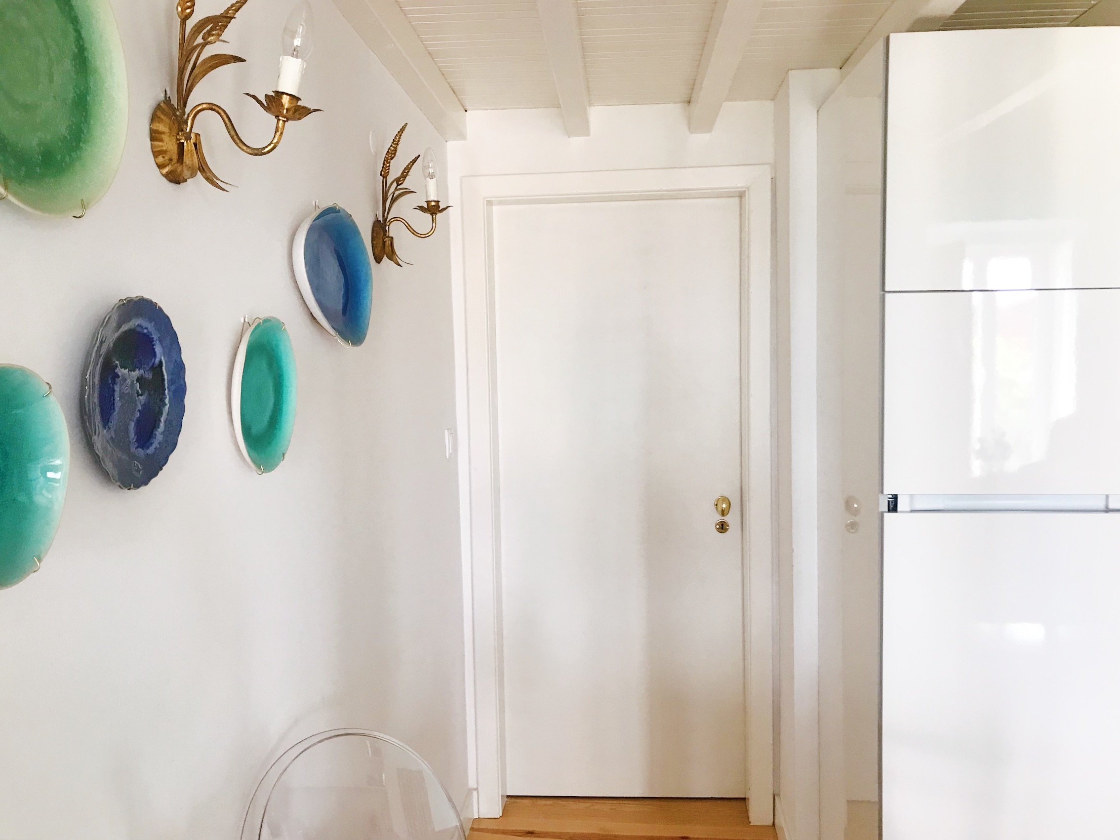 Door to second bedroom